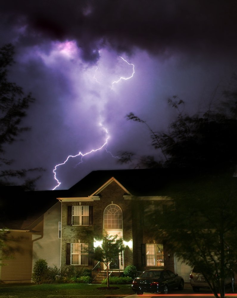 Lightning Damage Home Damage Adjustment